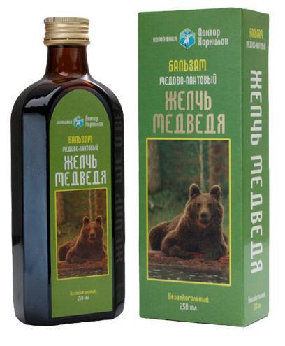 Желчь медведя